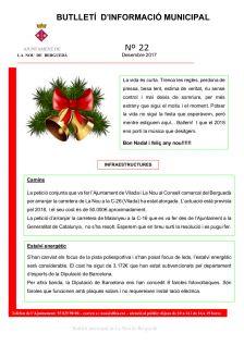 Butlletí d'informació municipal núm. 22
