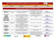 Recull setmanal d'ofertes de feina (de 12 al 19 de febrer de 2019)